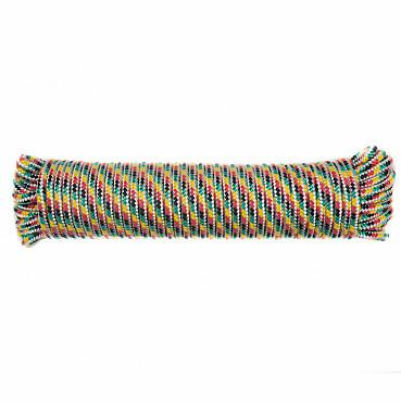 Шнур полипропиленовый плетеный, 6x20 мм. Кызылорда