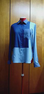 джинсовые трехцветные рубашки Алматы