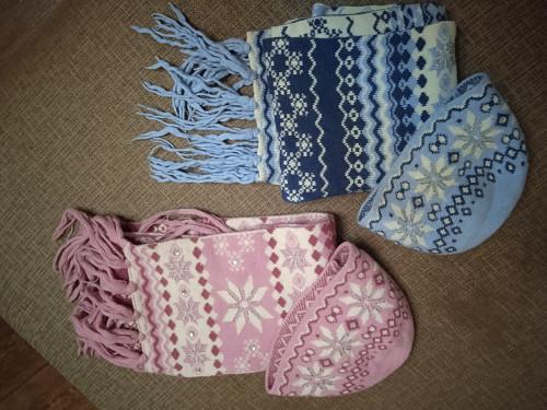 Продам шапки с шарфами дешево Алматы