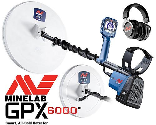Металлодетектор Minelab GPX 6000 Талдыкорган
