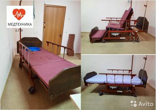 медицинская Кровать для лежащих больных Алматы