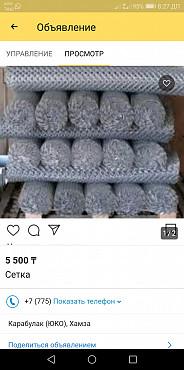 сетка Карабулак (Туркестанская обл.)