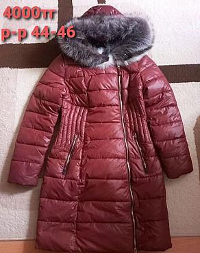зимняя куртка хорошем состоянии 4000тг р-р 44-46 Усть-Каменогорск