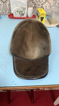 продам норковую кепку-бейсболку Алматы