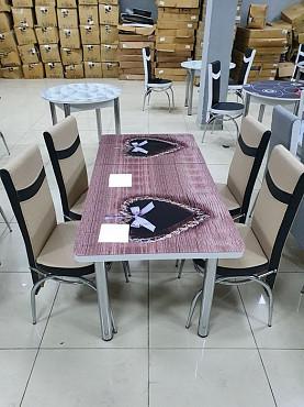 Стол стулья комплект 144.000тг Алматы