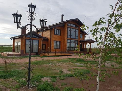 Дом из соснового бруса возле Астаны.ВАРИАНТЫ ОБМЕНА в АЛМАТЫ, АСТАНУ Алматы