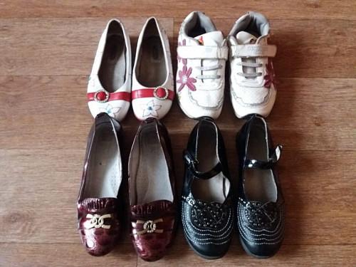 Детская обувь. Обувь для девочки: кроссовки, туфли (размер 33-34) Алматы