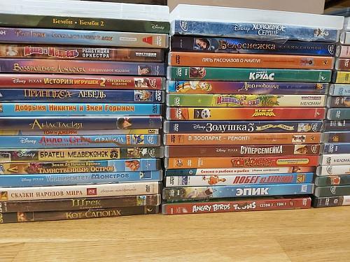 Продам диски мультфильмы Алматы